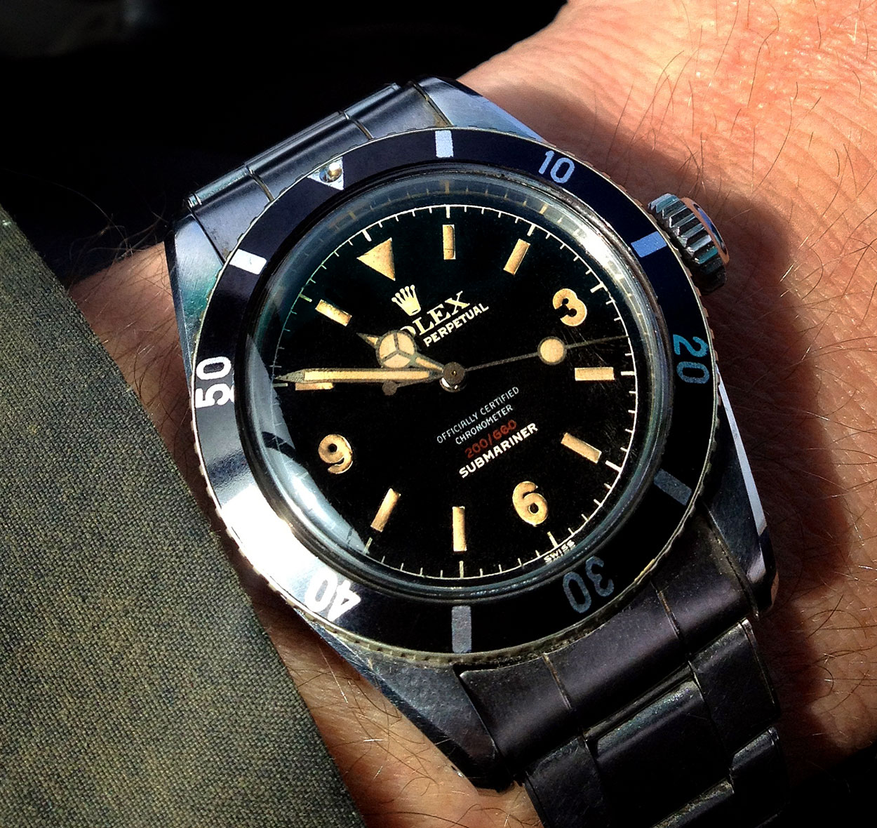 Image result for Classic Rolex Submariners