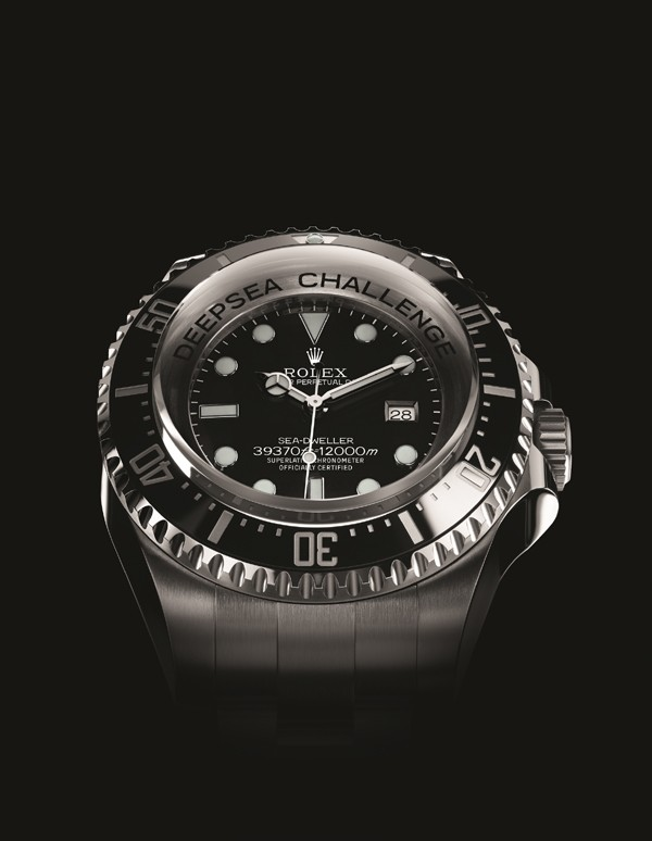 on the new Rolex DeepSea