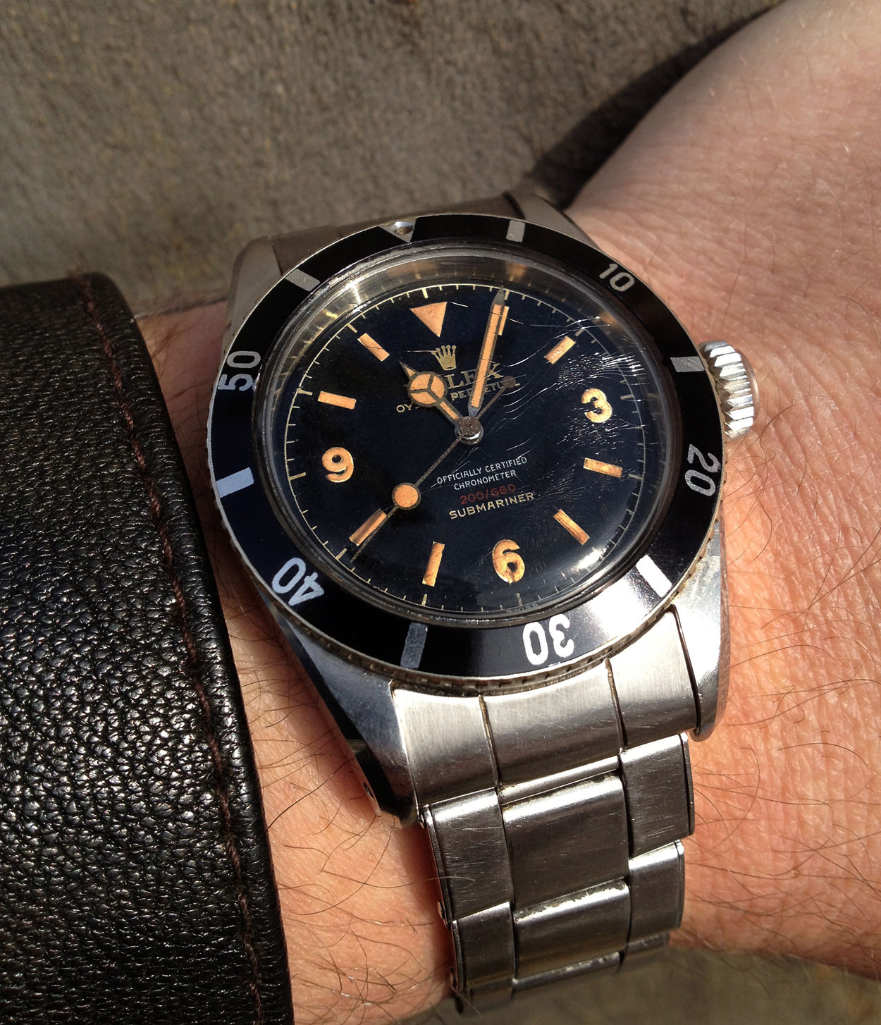 The Rarest Submariner Big Crown Of Them All Rolex