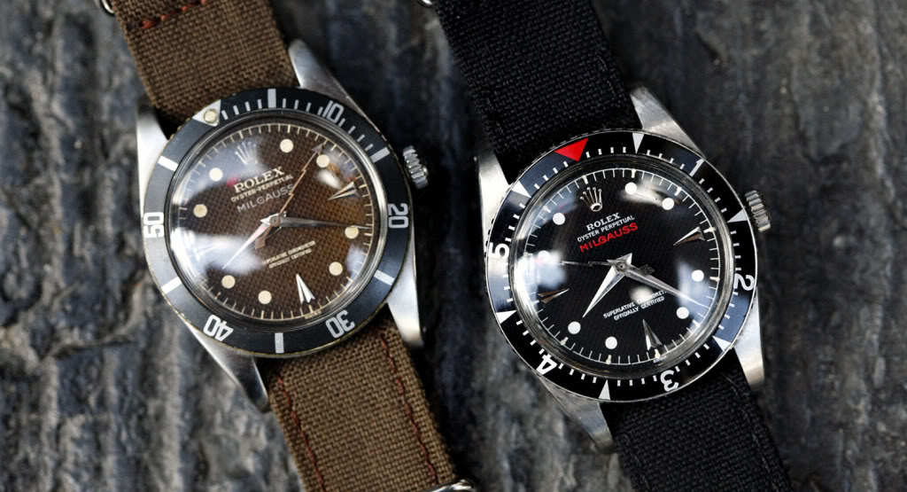 Some Exceptional Vintage Rolex Milgauss Ref 6541 Early Sport Models
