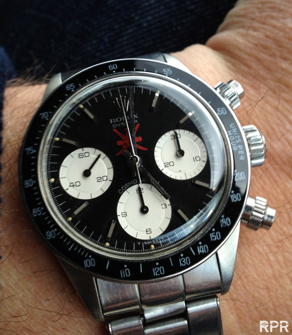 The Legendary Rolex Red Oman Cosmograph Daytona 6263 meeting Everest 1953 Explorer..