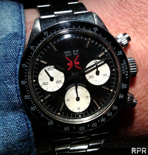 The Legendary Rolex Red Oman Cosmograph Daytona 6263. What a special beauty!..