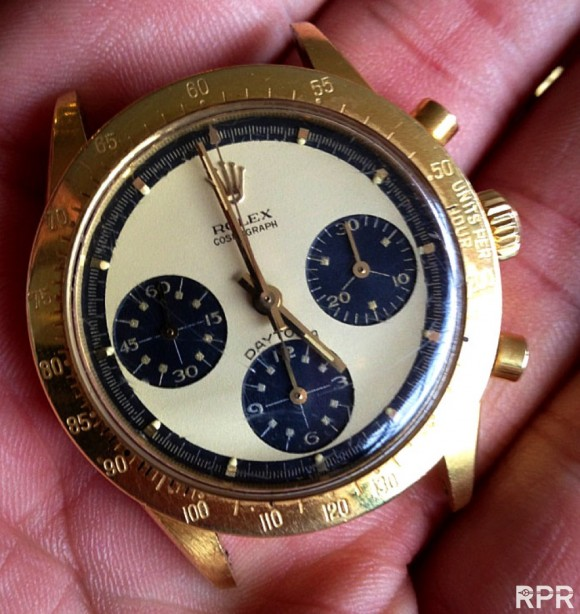 I LOVE these First Owner Vintage Rolex, today a Paul Newman Ref 6239 in Gold! ;-)