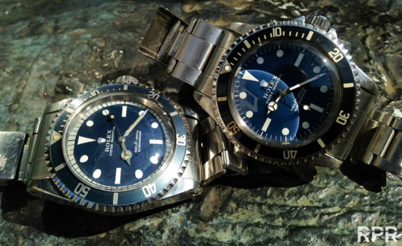 The BLUE Proto Type Submariners!!! Pre Basel Rolex World News