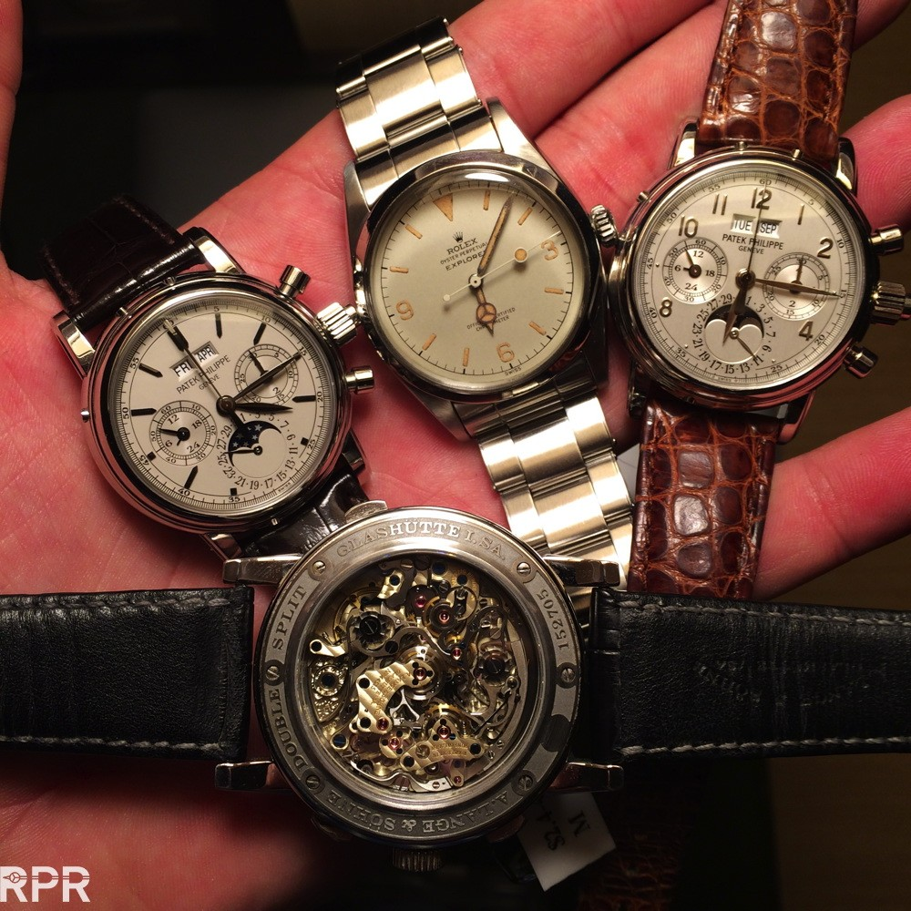 Vintage Rolex and Patek Philippe in Asia..