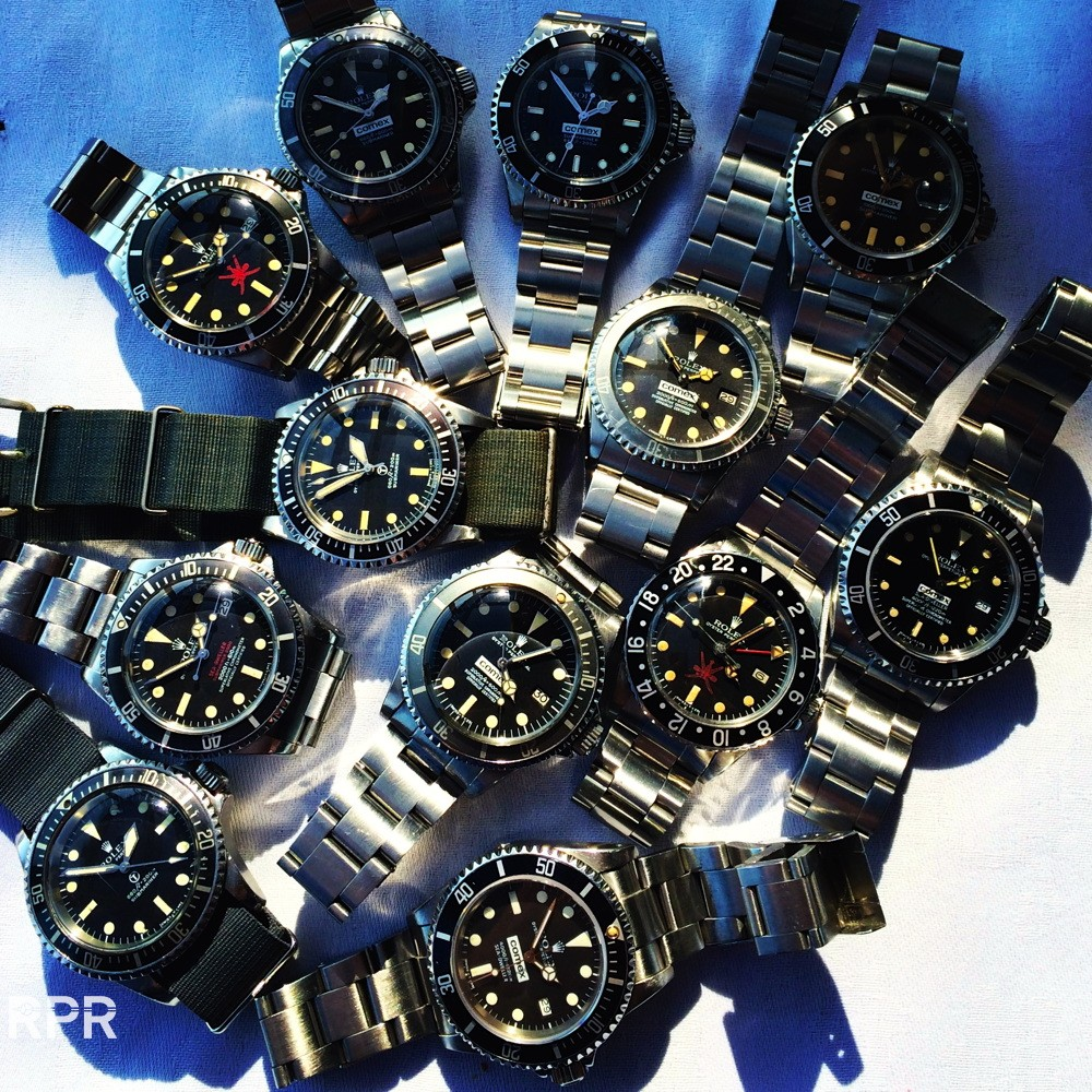 London Issued Vintage Rolex & Tudor Meeting – Great Passion with Friends!
