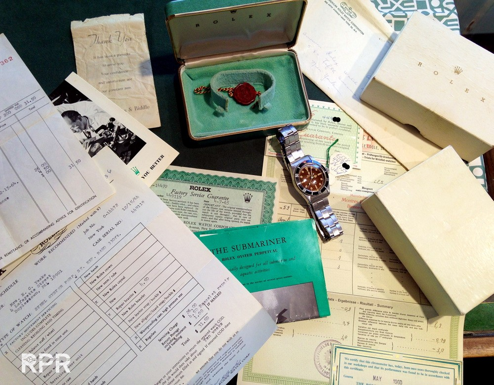 Buyer's guidance collector information to determine the originality of vintage Rolex.