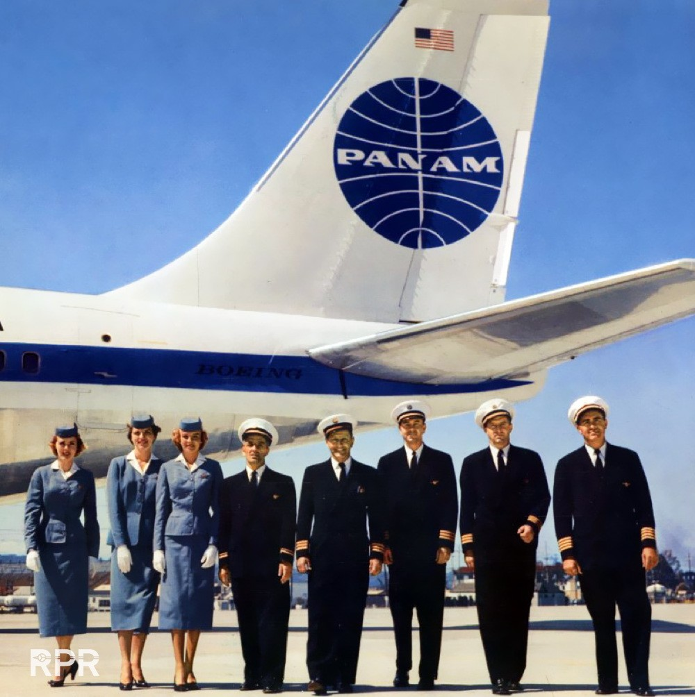 RPR-1958-Pan-Am-707-Crew