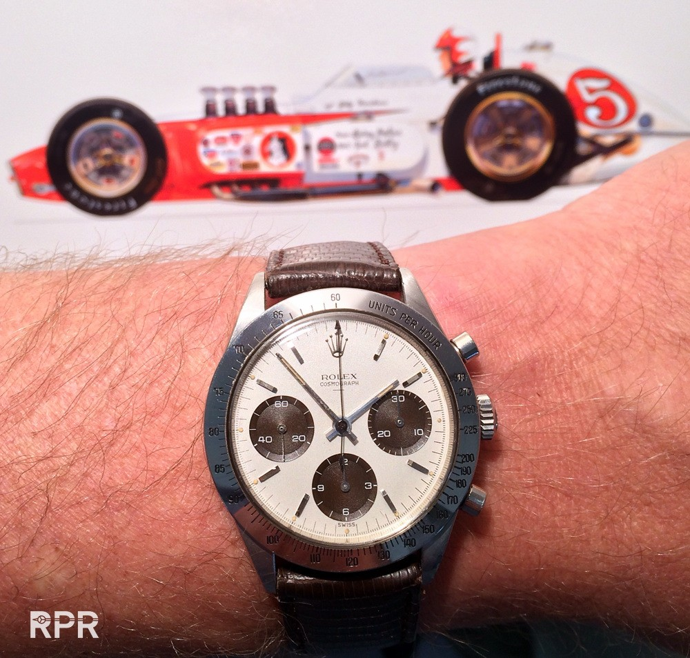 """The """"Hopkins Double Swiss Underline 6239″. Is this Rolex """"First Daytona"""" ever?"""