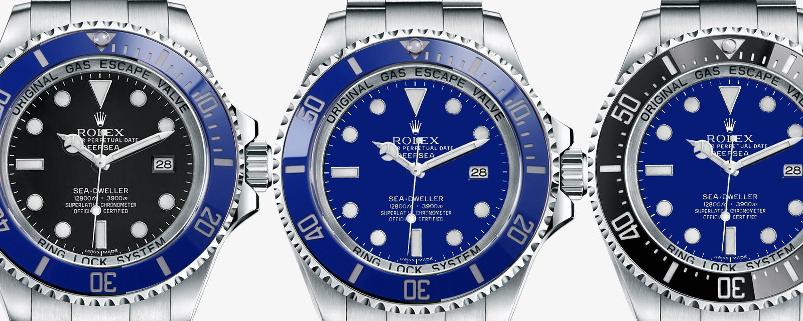Rolex Deepsea Blue For Sale