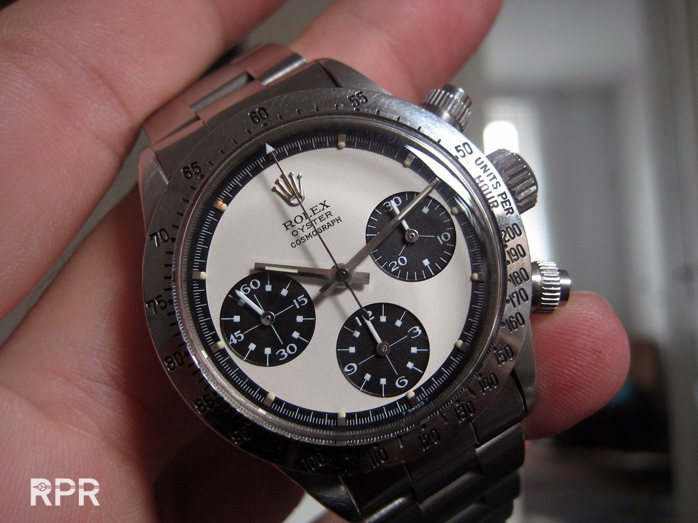 Vintage Rolex Daytona Oyster Paul Newman Ref 6265 Rolex Passion Report