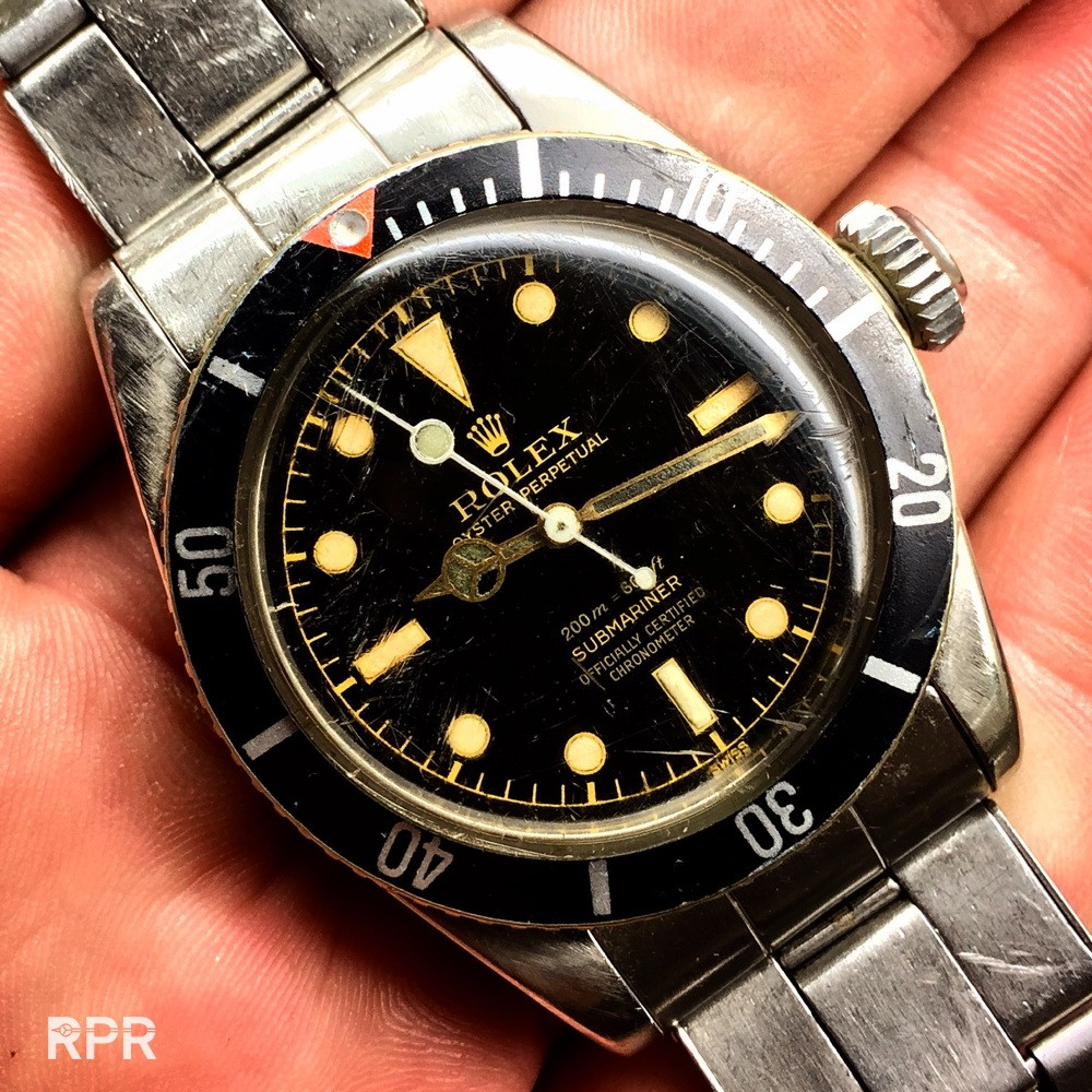 The Desert Bond Rolex 6538 Big Crown Submariner Rolex Passion Report