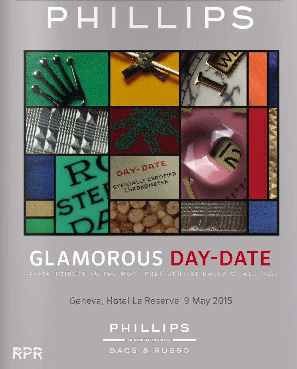 Special Day Date Auction & New Pucci book