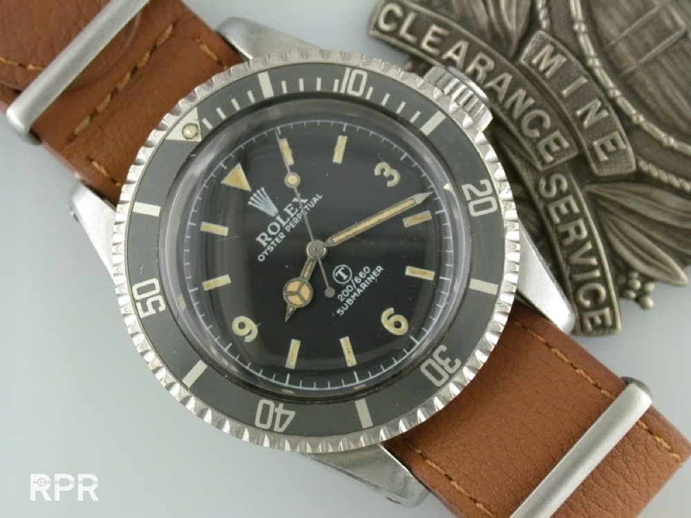 The Rolex Small and Big Crown James Bond Submariner - Rolex Passion