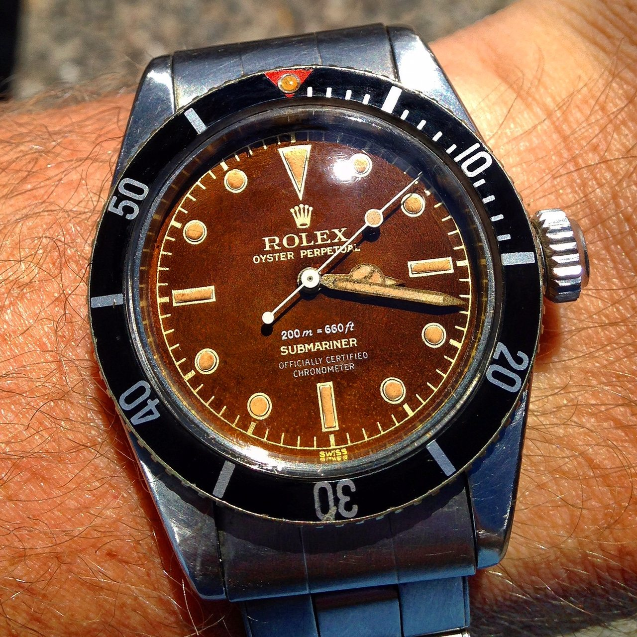 the importance of the vintage rolex dial