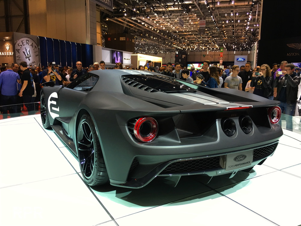Heres My Geneva Car Show Ford Gt Experience