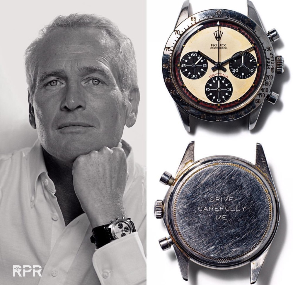 Paul Newman's own Rolex Paul Newman will be auctioned..