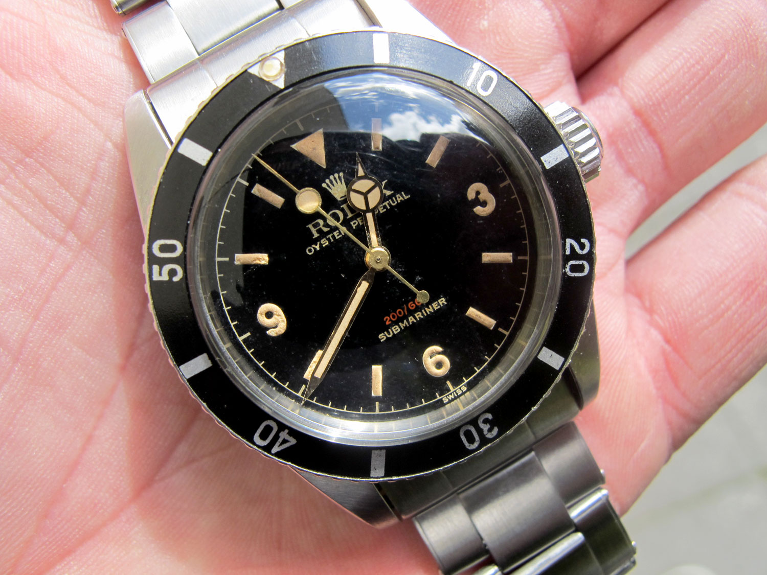 The 1 Million Rolex Big Crown Ref 6538 Submariner Rolex Passion